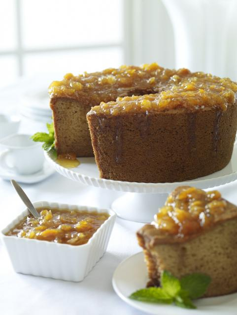 Nova Scotia Honey Orange Sponge Cake