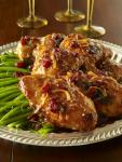Mahogony Chicken with Figs and Cranberries