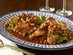 Moroccan Tilapia with Chickpeas